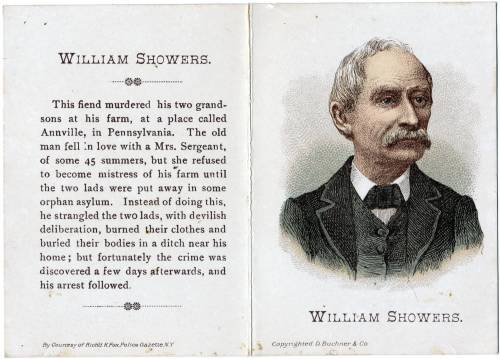 1887 N283 Buchner Defenders & Offenders William Showers