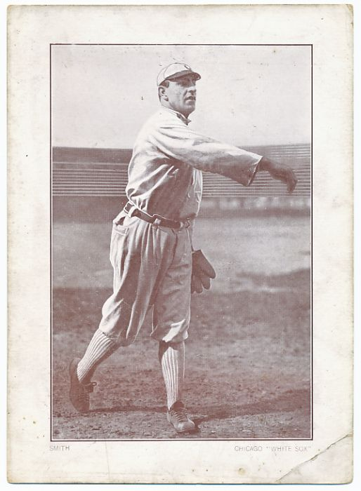 1911 Merrick & Spaulding Plow Boy tobacco premium Smith, White Sox