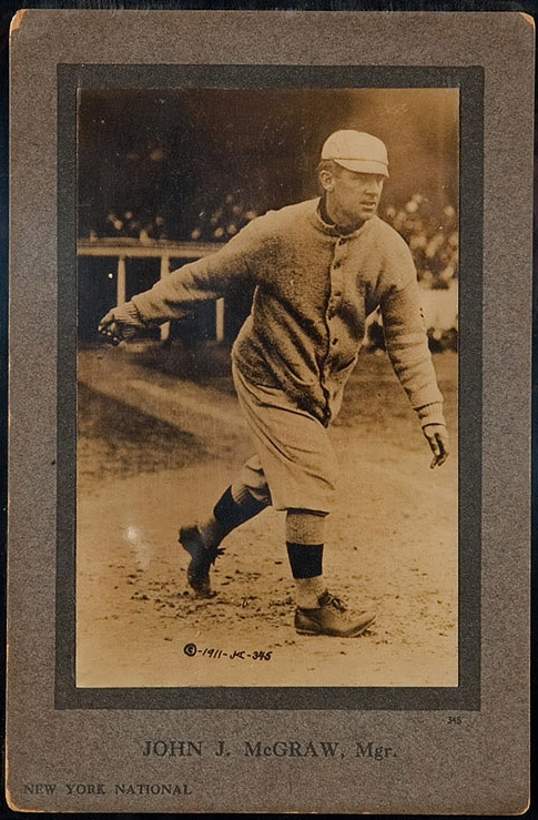 1911 Jones, Keyser & Arras #345 John McGraw