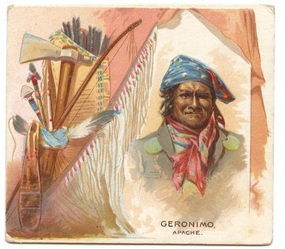 1888 N36 Allen & Ginter American Indian Geronimo (Apache)