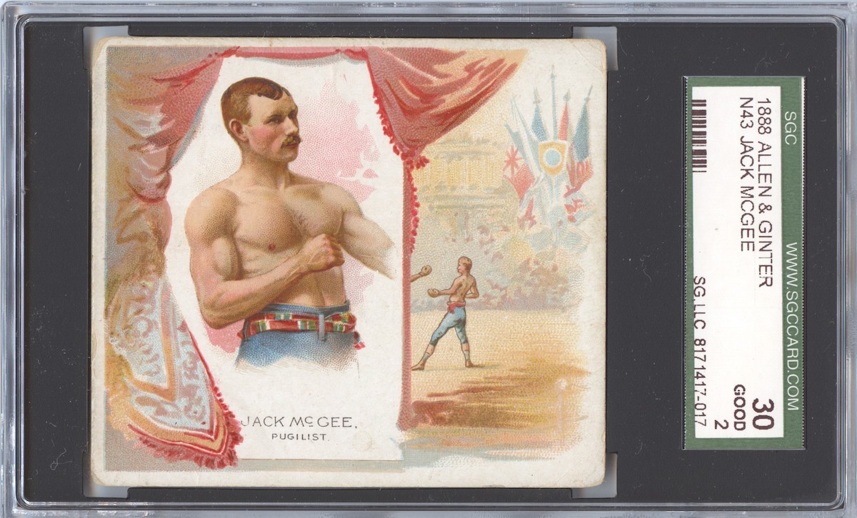 N43 Allen & Ginter The World's Champions 1888 Jack McGee