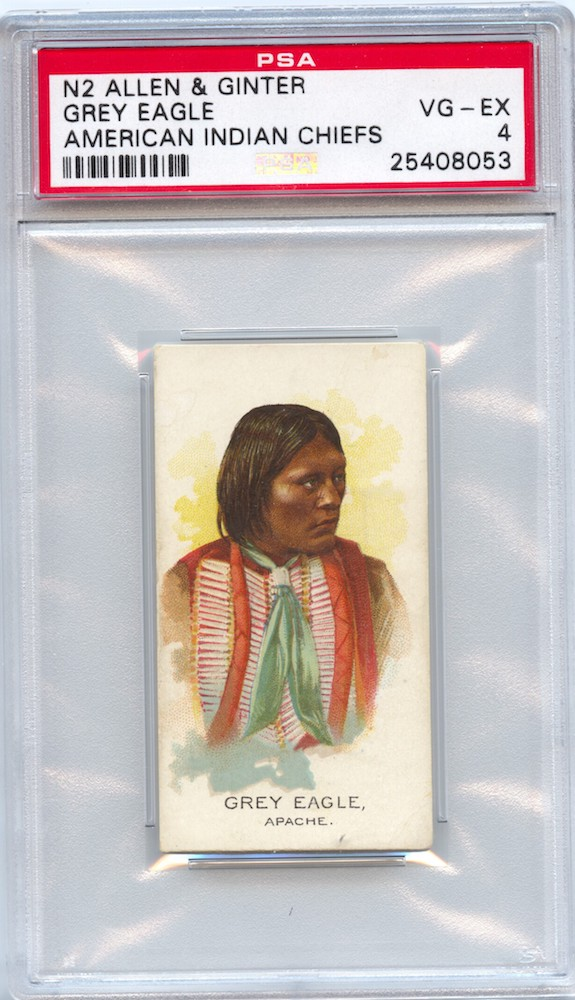 1888 Allen & Ginter N2 American Indian Chiefs Grey Eagle