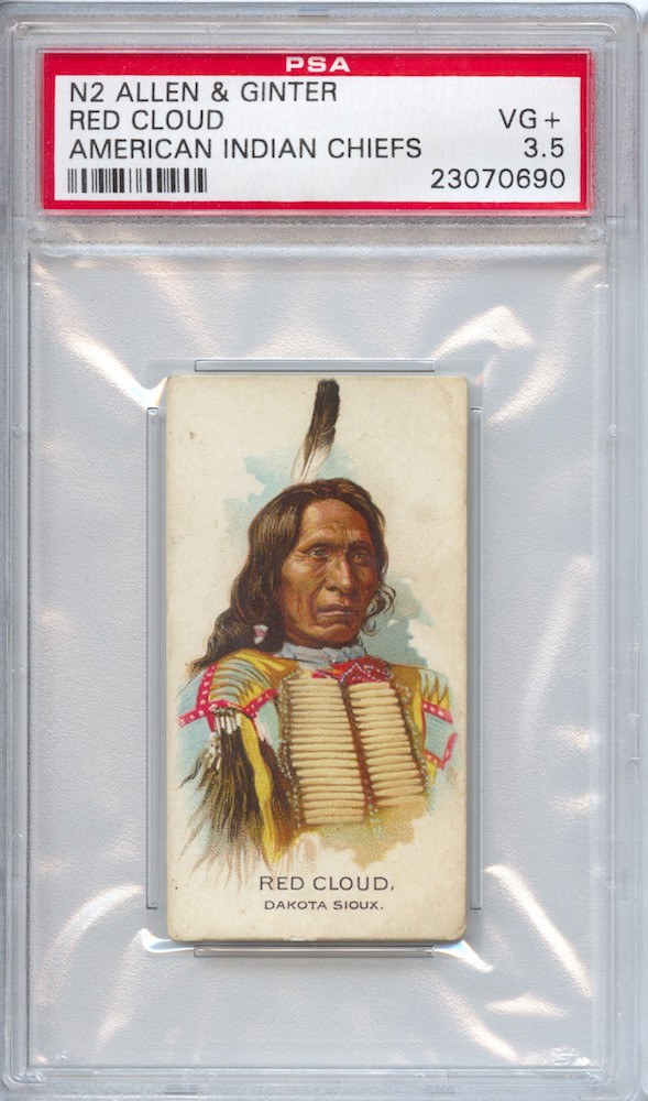 1888 Allen & Ginter N2 American Indian Chiefs Red Cloud