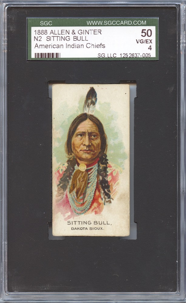 1888 Allen & Ginter N2 American Indian Chiefs Sitting Bull