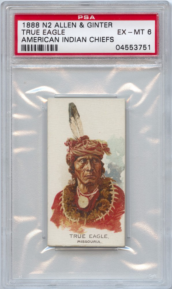 1888 Allen & Ginter N2 American Indian Chiefs True Eagle