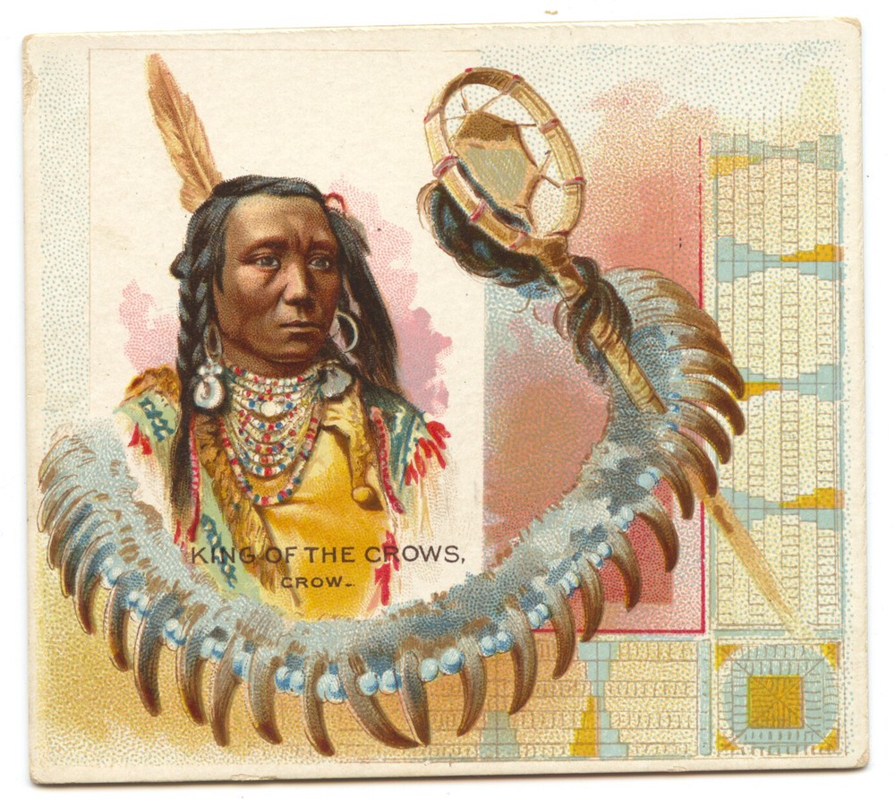 1888 N36 Allen & Ginter American Indian King of the Crows (Crow)