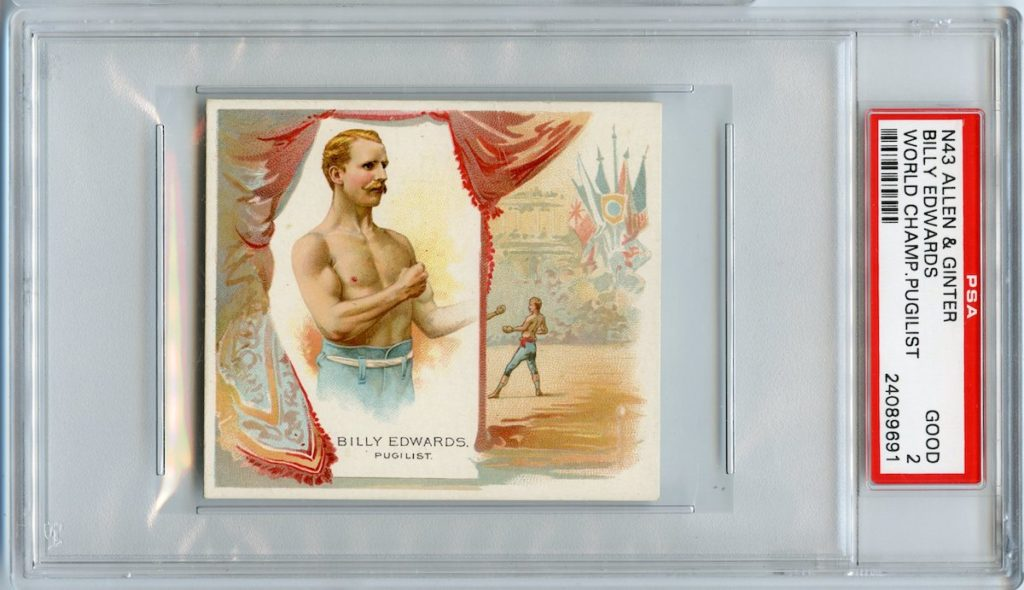 "1888 Allen & Ginter N43 ""Series of Champions"" Jack McGee"