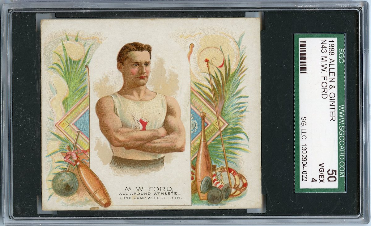 N43 Allen & Ginter The World's Champions 1888 M.W. Ford