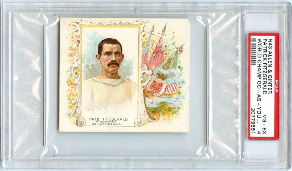 N43 Allen & Ginter The World's Champions 1888 Patk. Fitzgerald