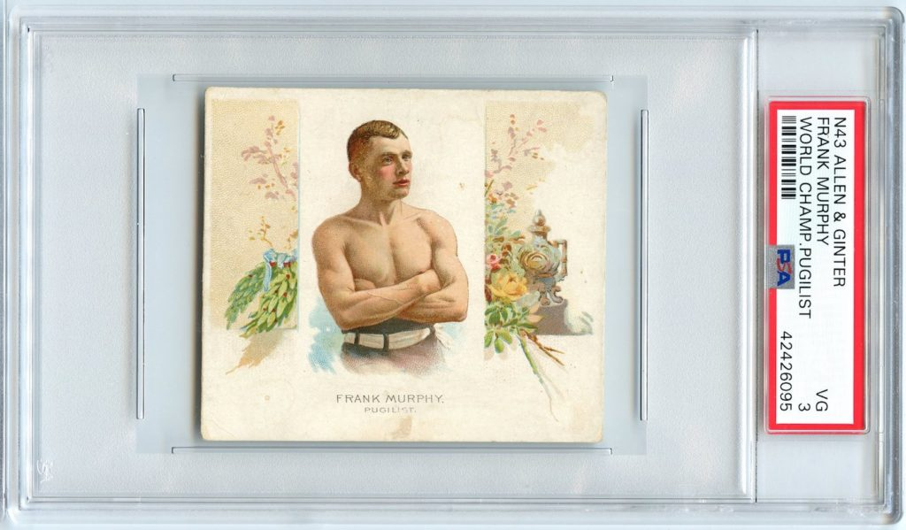 N43 Allen & Ginter The World's Champions 1888 Frank Murphy