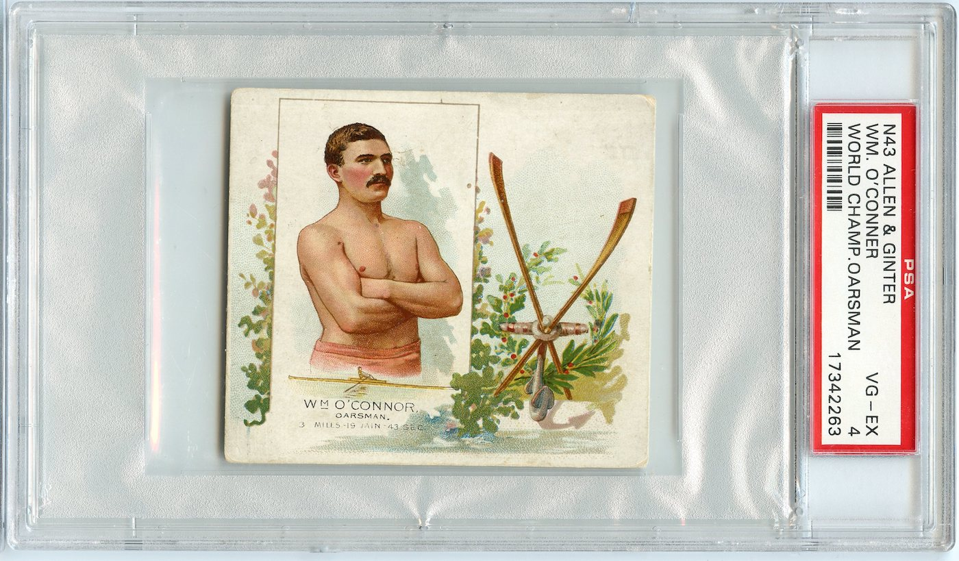 N43 Allen & Ginter The World's Champions 1888 Wm. O'Connor