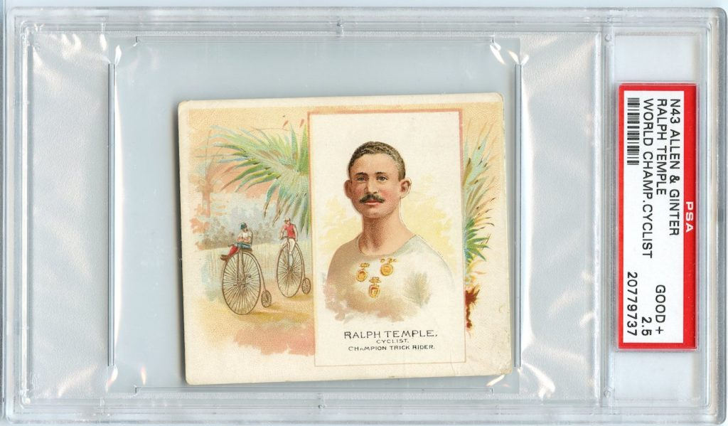 N43 Allen & Ginter The World's Champions 1888 Ralph Temple