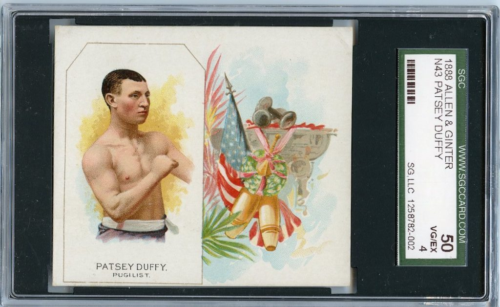 N43 Allen & Ginter The World's Champions 1888 Patsey Duffy