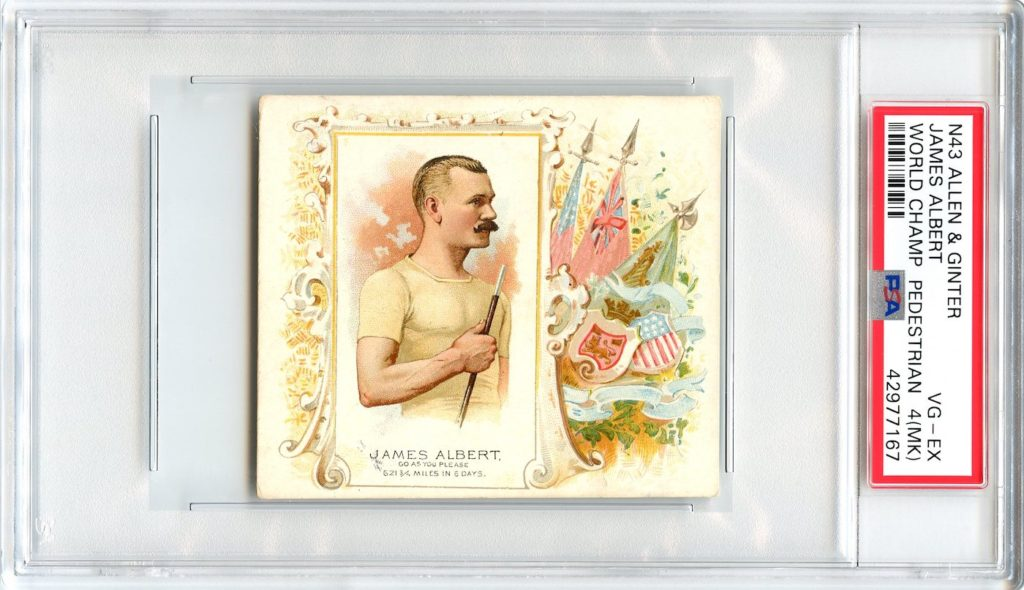 N43 Allen & Ginter The World's Champions 1888 James Albert
