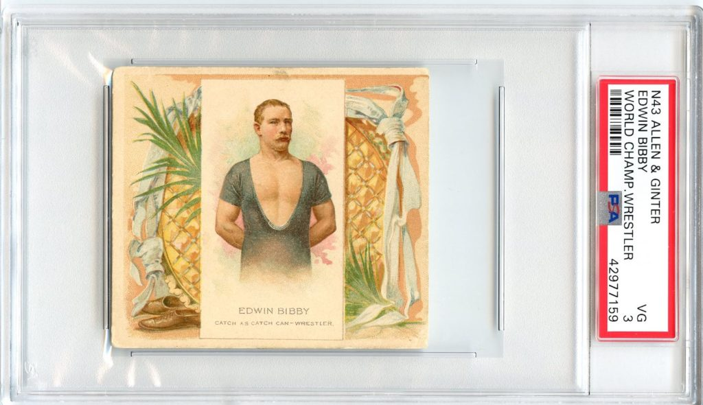 N43 Allen & Ginter The World's Champions 1888 Edwin Bibby