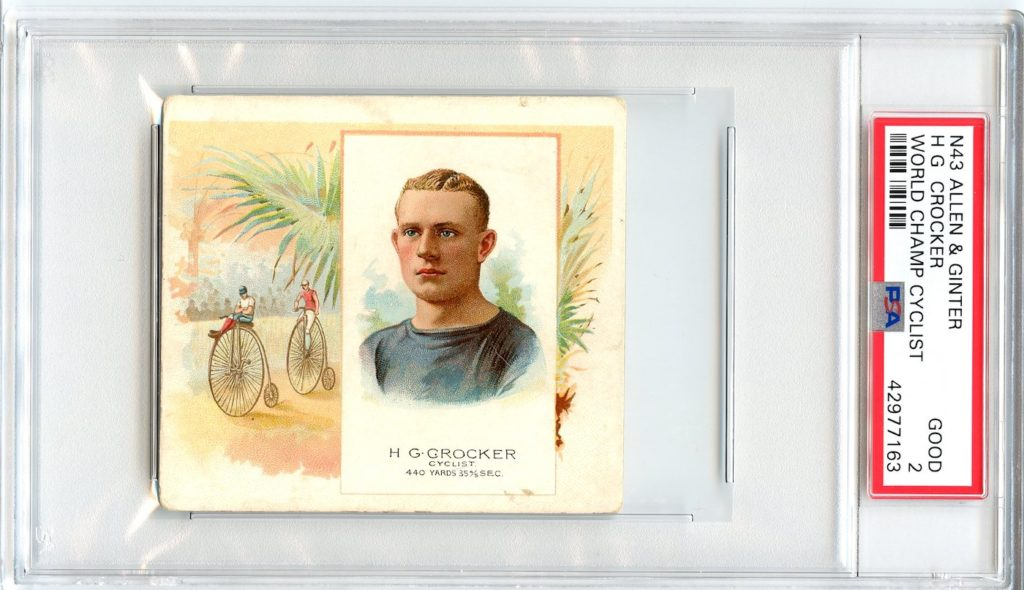 N43 Allen & Ginter The World's Champions 1888 H.G. Crocker