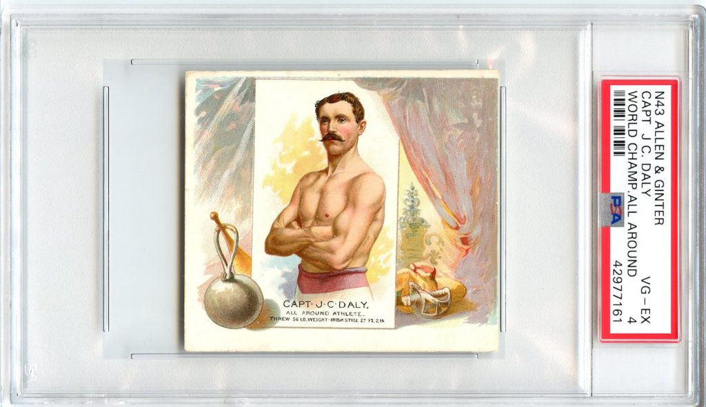 N43 Allen & Ginter The World's Champions 1888 Capt. J.C. Daly