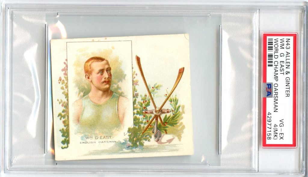 N43 Allen & Ginter The World's Champions 1888 Wm. G. East