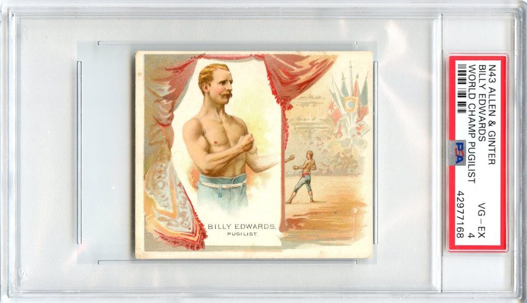 N43 Allen & Ginter The World's Champions 1888 Billy Edwards