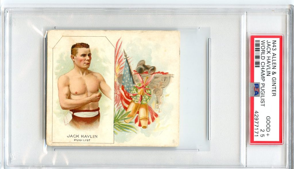 N43 Allen & Ginter The World's Champions 1888 Jack Havlin