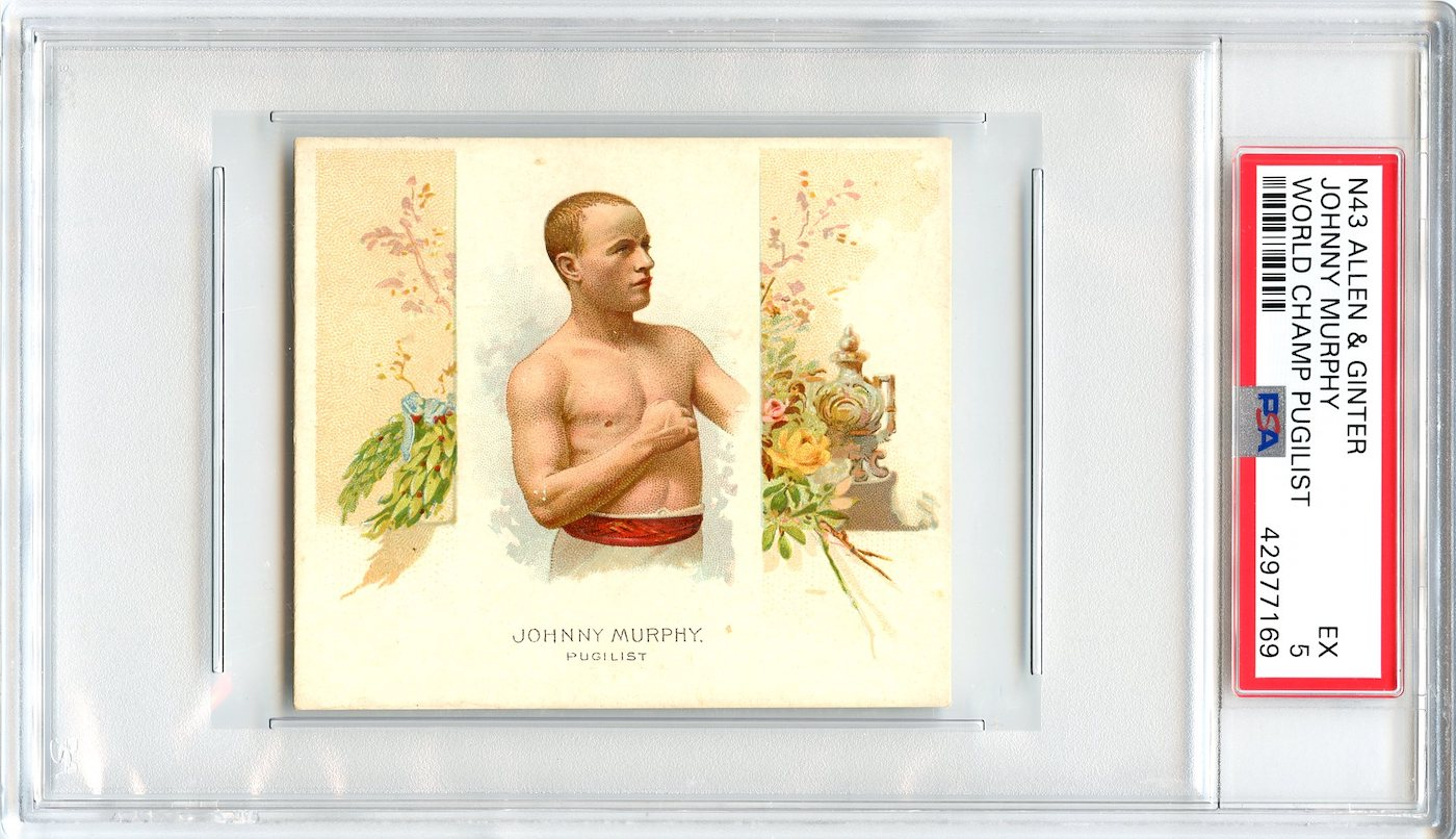 N43 Allen & Ginter The World's Champions 1888 Johnny Murphy