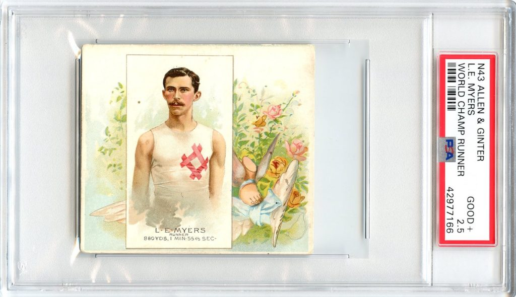N43 Allen & Ginter The World's Champions 1888 L.E. Myers