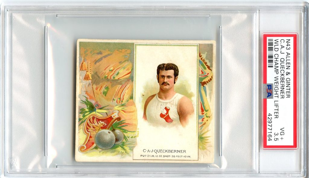 N43 Allen & Ginter The World's Champions 1888 C.A.J. Queckberner