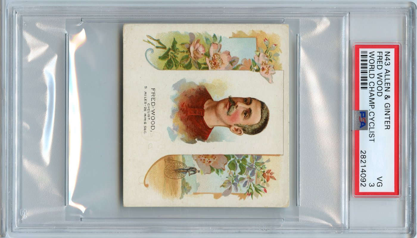N43 Allen & Ginter The World's Champions 1888 Fred Wood