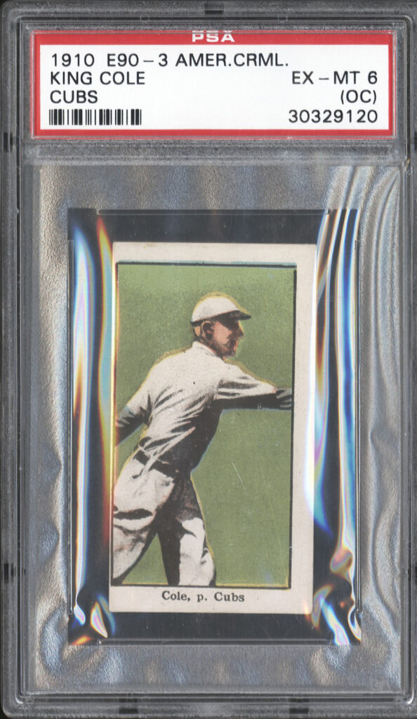 E90-3 American Caramel King Cole, Cubs
