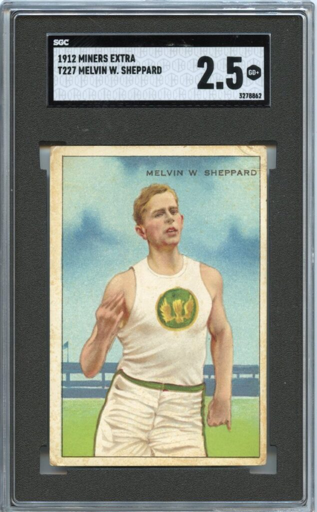 1912 Miner's Extra T227 Melvin W. Sheppard